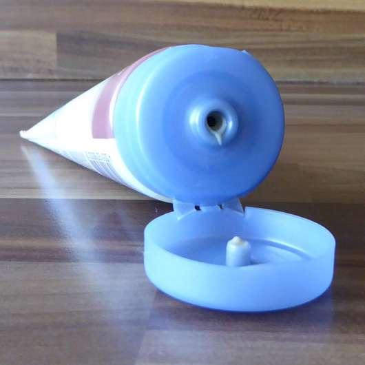 Luvos Waschcreme mit Traubensilberkerzen - Dosieröffnung