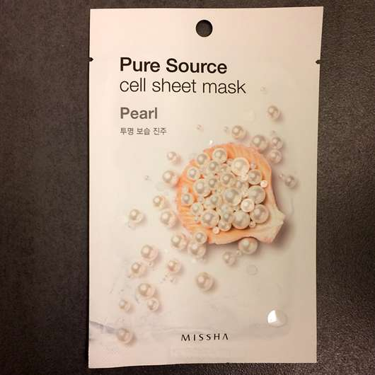 <strong>MISSHA</strong> Pure Source Cell Sheet Mask (Pearl)