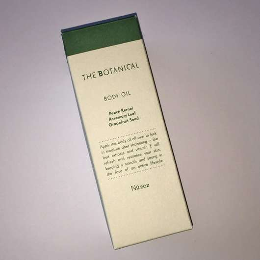 The Botanical Body Oil