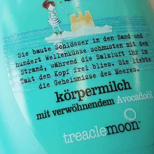 treaclemoon calming sea secrets Körpermilch - Flasche Details
