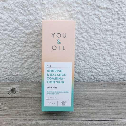 YOU & OIL Gesichtsöl (Mischhaut)