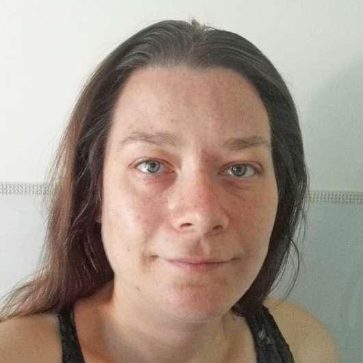 Haut zu Testbeginn - YOU & OIL Gesichtsöl (Mischhaut)