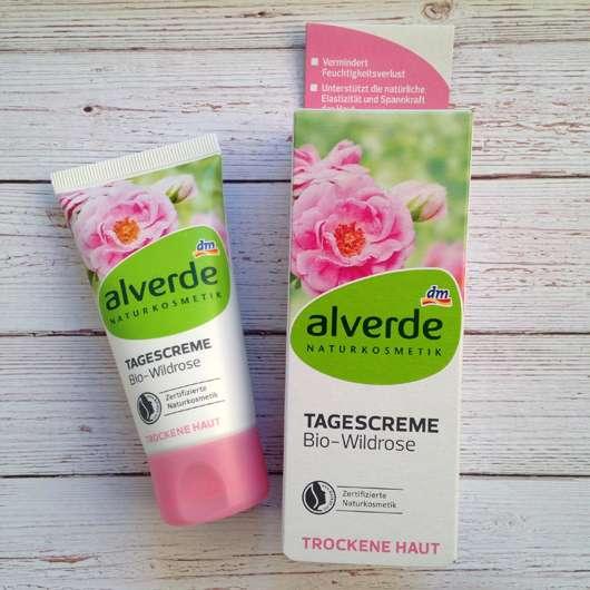alverde Tagespflege Bio-Wildrose (trockene Haut)