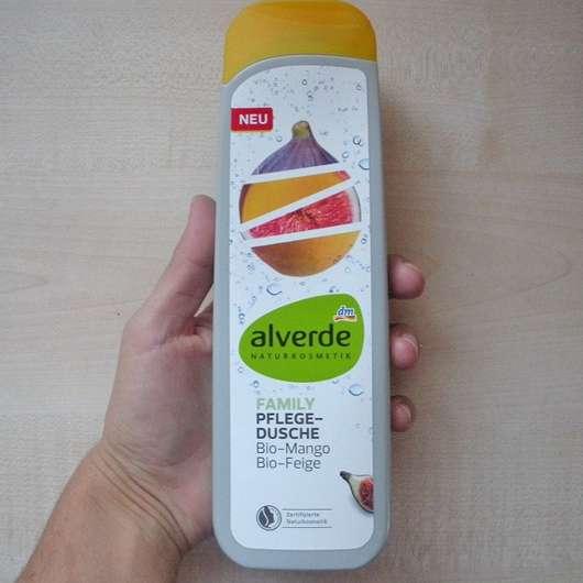 alverde Family Pflege-Dusche Bio-Mango Bio-Feige