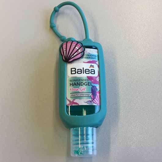 Balea Reinigendes Handgel Ocean Girl - Verpackung mit Henkel