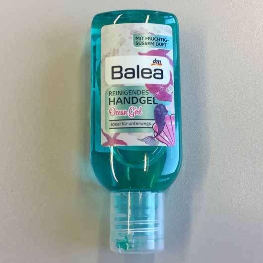 Balea Reinigendes Handgel Ocean Girl - Verpackung ohne Henkel
