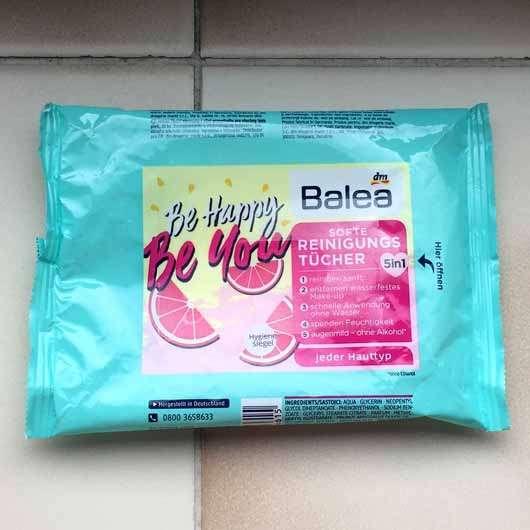 """Balea Softe Reinigungstücher """"Be happy, be you"""" (LE)"""