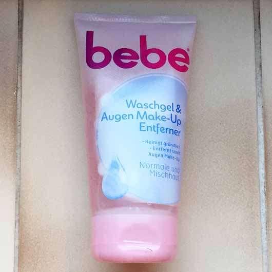 <strong>bebe®</strong> Waschgel & Augen Make-Up Entferner