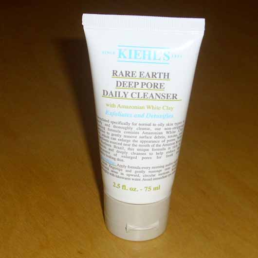 <strong>Kiehl's</strong> Rare Earth Deep Pore Daily Cleanser