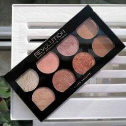 Produktbild zu Makeup Revolution Ultra Blush Palette – Farbe: Golden Sugar