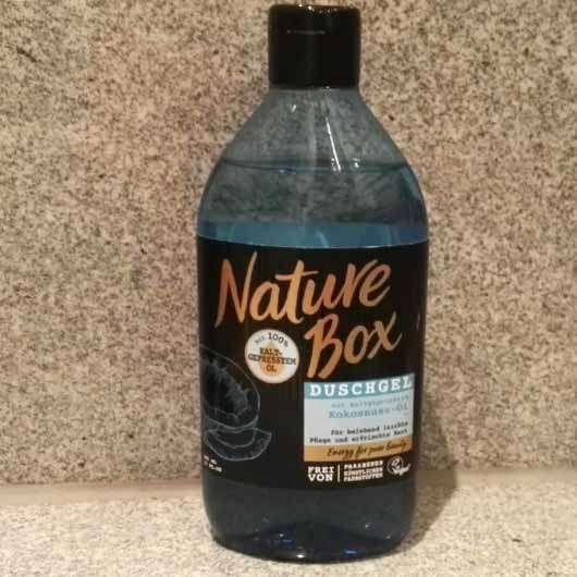 Nature Box Kokosnuss-Öl Duschgel - Flasche