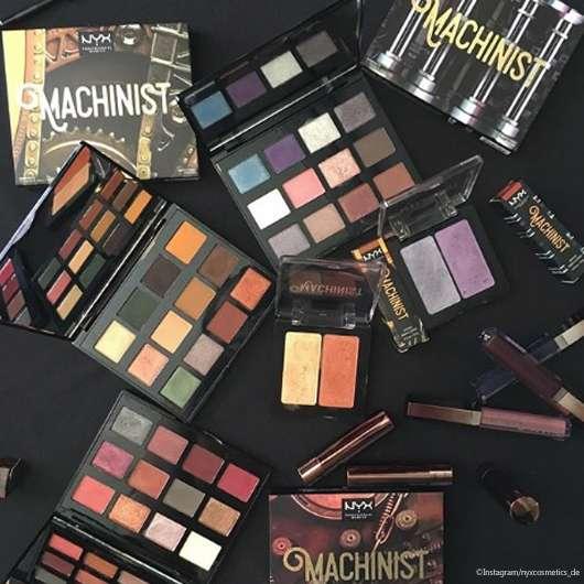 NYX Cosmetics Machinist Kollektion