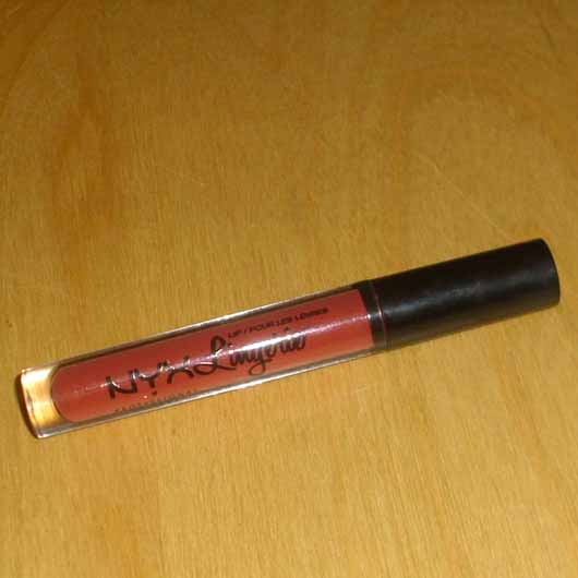 <strong>NYX</strong> Lip Lingerie Liquid Lipstick - Farbe: 12 Exotic
