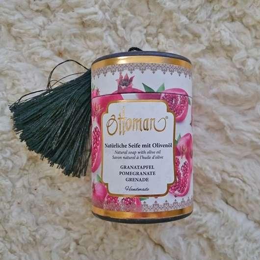 Ottoman Natürliche Seife mit Olivenöl (Sorte: Granatapfel)