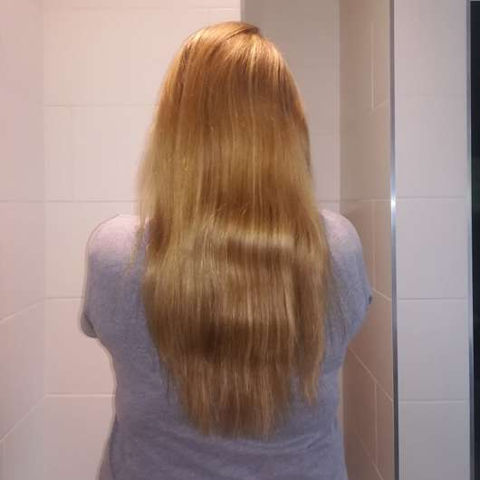 Haare vor dem Test - Schwarzkopf Gliss Kur Verführerisch Lang Shampoo