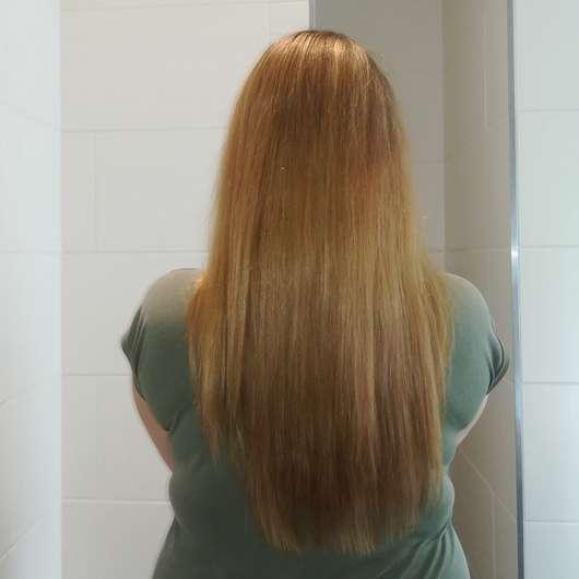 Haare nach dem Test - Schwarzkopf Gliss Kur Verführerisch Lang Shampoo