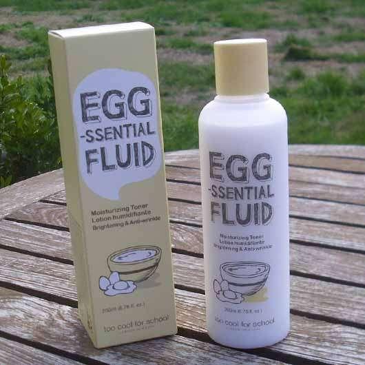 too cool for school EGG-ssential Fluid Moisturizing Toner