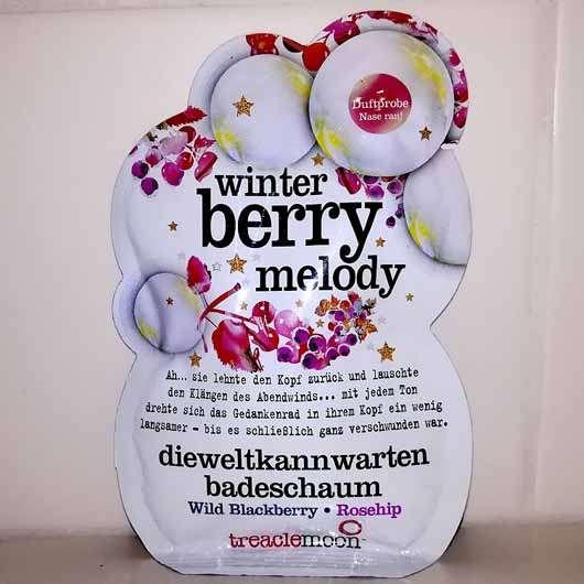 <strong>treaclemoon</strong> winter berry melody dieweltkannwarten badeschaum