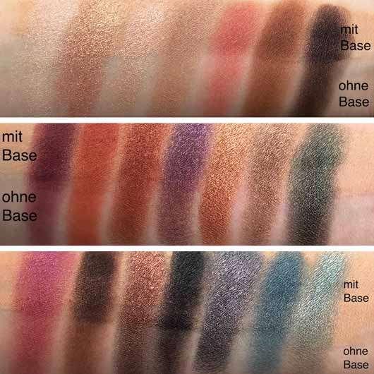 Urban Decay Born To Run Eyeshadow Palette - Swatches