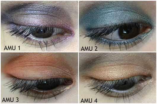 Urban Decay Born To Run Eyeshadow Palette - vier Augen Make-Ups