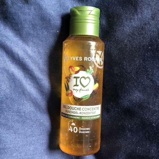 Yves Rocher Duschgel-Konzentrat Mango-Koriander - Flasche
