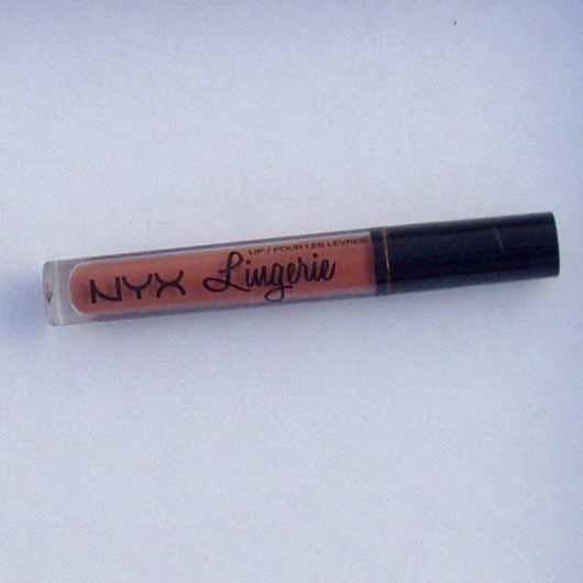 <strong>NYX</strong> Lip Lingerie Liquid Lipstick – Farbe: 08 Bedtime Flirt