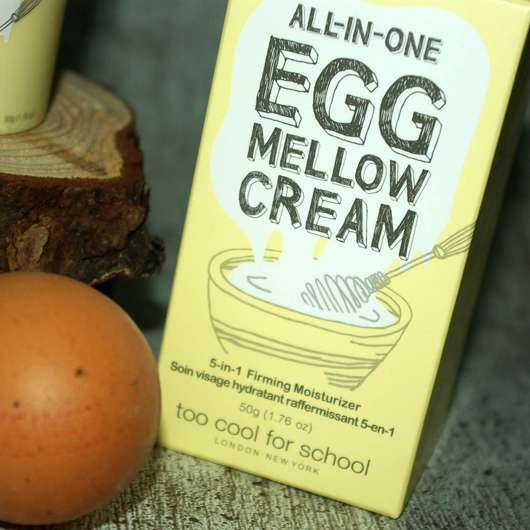 too cool for school EGG Mellow Cream 5-in-1 Firming Moisturizer - Verpackung