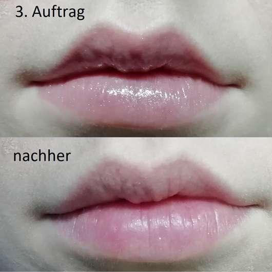 IsaDora Lip Booster Plumping & Hydrating Gloss, Farbe: 07 Glossy Praline - Auftrag auf den Lippen