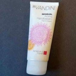 Produktbild zu aldoVANDINI Sensual Aroma Handbalsam Tamarinde & Ingwer