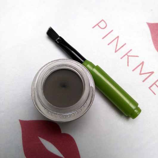 alverde Augenbrauenpomade, Farbe: Ash Taupe - Tiegel geöffnet