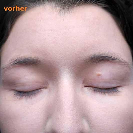 alverde Augenbrauenpomade, Farbe: Ash Taupe - Brauen ohne Produkt