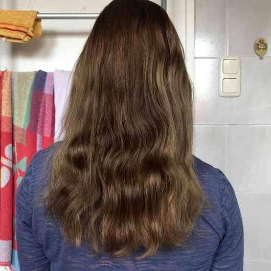 "alverde festes Shampoo ""Kokos"" - Haare nach 4 Wochen"