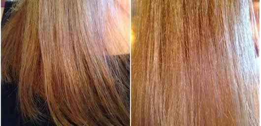 """alverde festes Shampoo """"Kokos"""" - Haare nach 4 Wochen Testzeit"""