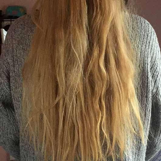 """alverde festes Shampoo """"Kokos"""" - Haare nach 4 Wochen Testphase"""