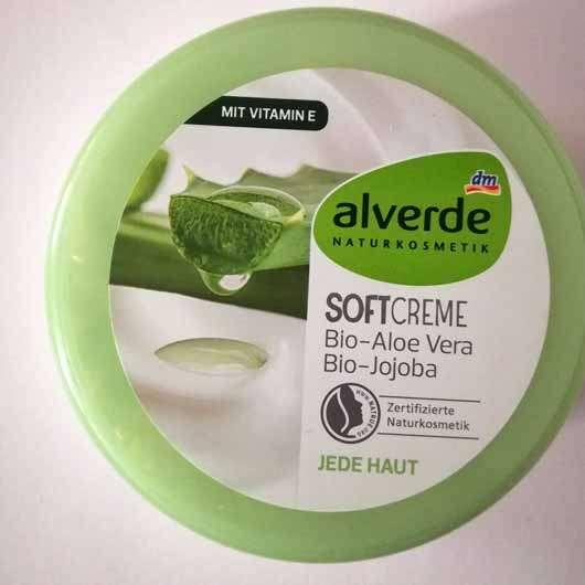 alverde Softcreme Bio-Aloe Vera und Bio-Jojoba