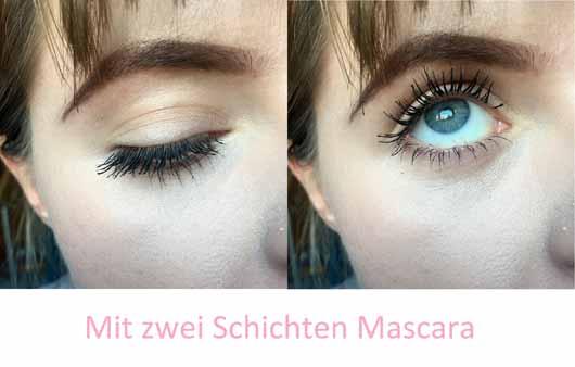 Benefit BADgal BANG! Volumen-Mascara - Wimpern mit zwei Schichten Mascara