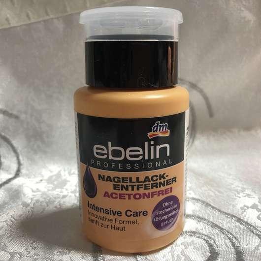 <strong>ebelin Professional</strong> Nagellackentferner Acetonfrei Intensive Care