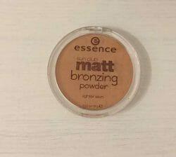 Produktbild zu essence sun club matt bronzing powder – Farbe: 01 natural