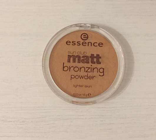 <strong>essence sun club</strong> matt bronzing powder - Farbe: 01 natural
