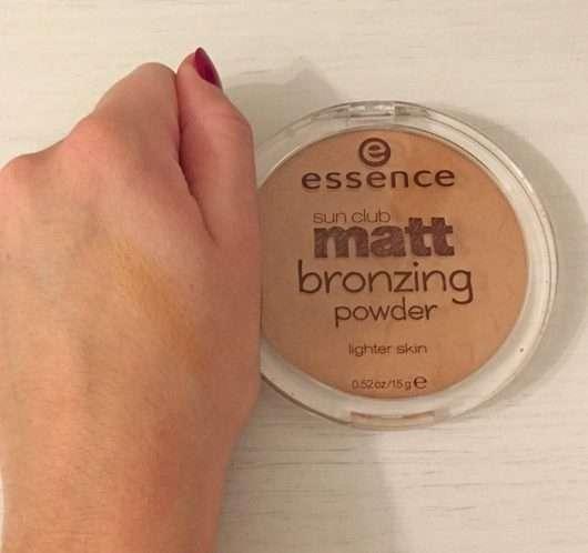 essence sun club matt bronzing powder, Farbe: 01 natural
