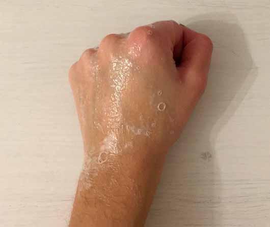 head&shoulders Anti-Schuppen Shampoo Sensitive - Schaumentwicklung