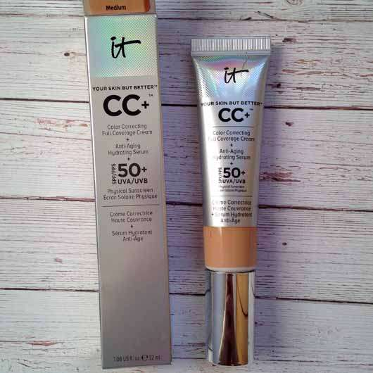 <strong>IT Cosmetics</strong> Your Skin But Better CC+ Cream mit LSF 50+ - Farbe: Medium