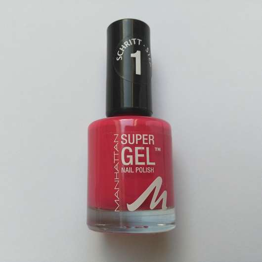 <strong>MANHATTAN</strong> Super Gel Nail Polish - Farbe: 315 Cherry Hill