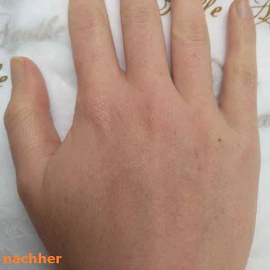 Mlle Agathe Regenerierende Handpflege - Haut nachher