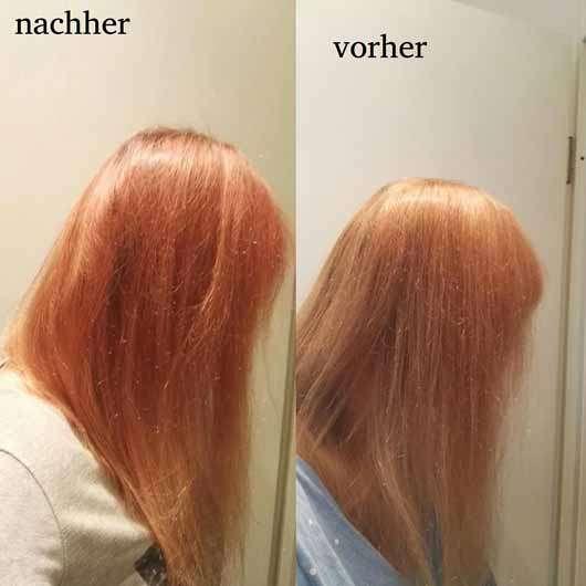 Nature Box Avocado-Öl Reparatur-Creme - Vorher / Nachher Bilder der Haare