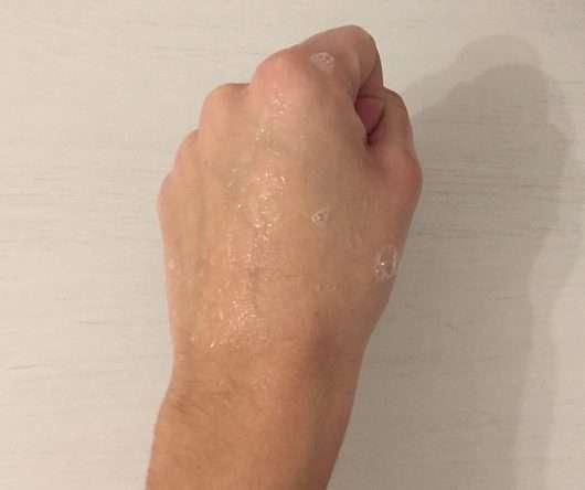 aufgeschäumte Konsistenz - Ombia Milch & Honig Handseife (Nachfüllbeutel)