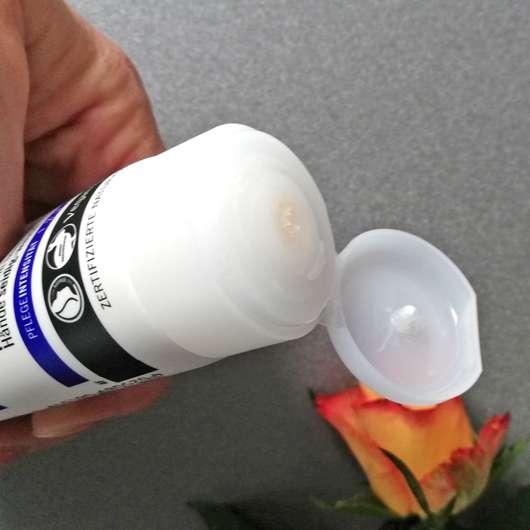 Dosieröffnung - SANTE Intensive Repair Handcreme Bio-Sheabutter & Macadamianussöl