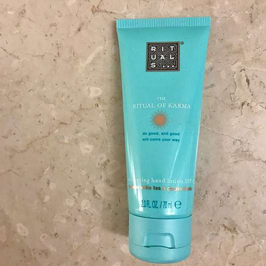 <strong>RITUALS</strong> The Ritual of Karma Hand Lotion SPF 15 (LE)