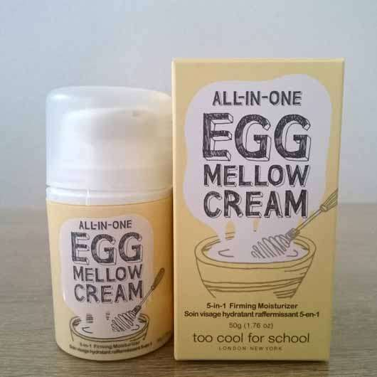 too cool for school EGG Mellow Cream 5-in-1 Firming Moisturizer