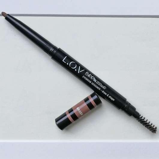 L.O.V BROWttitude Eyebrow Designer, Farbe: 210 Honey